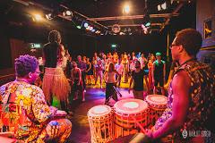 Afrikaanse dans en djembelessen, workshops , Afrika dag en multiculturele activiteiten