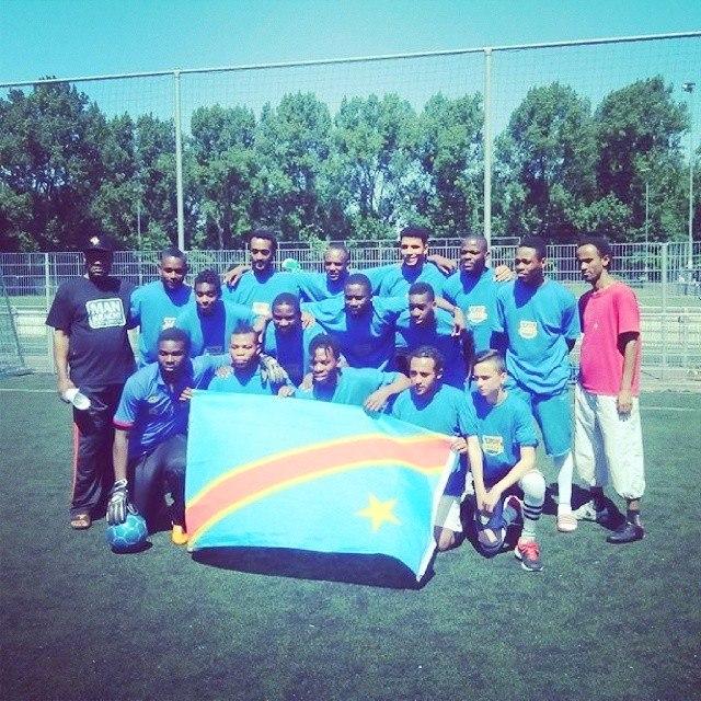 DEF. voetbal team congo